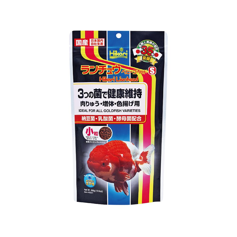 高夠力 金魚蘭壽飼料 Mini顆粒 300g