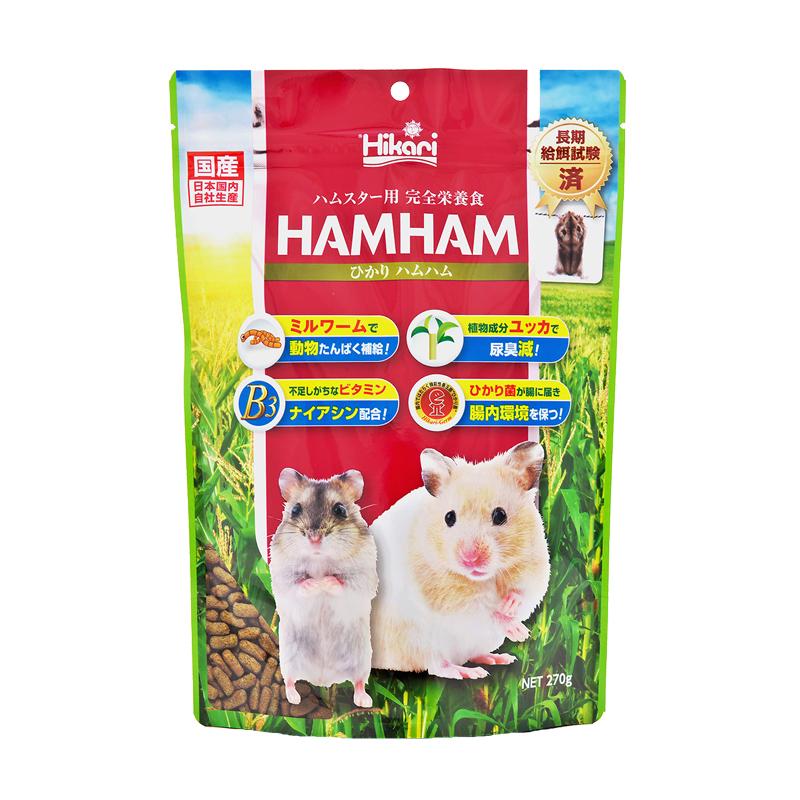 高夠力 HAMHAM 高適口性倉鼠飼料 270g