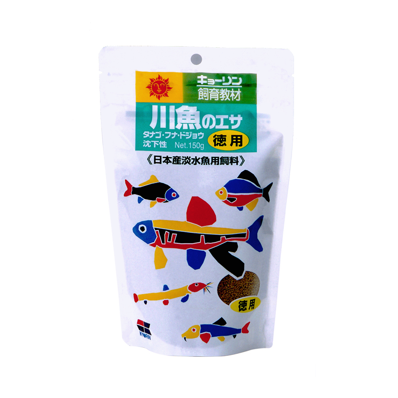 高夠力 (飼育教材)  川魚高蛋白飼料 150g